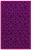 rug #912321 |  pink geometry rug