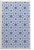 rug #912333 |  blue borders rug