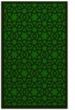 rug #912345 |  green borders rug