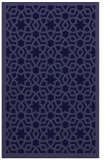 rug #912373 |  blue-violet geometry rug