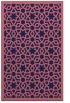rug #912381 |  pink popular rug