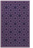 rug #912385 |  purple borders rug
