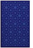 rug #912389 |  blue-violet borders rug