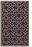 rug #912393 |  blue-violet geometry rug
