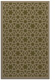 rug #912401 |  mid-brown borders rug