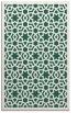 rug #912421 |  green borders rug