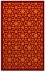 rug #912485    red-orange borders rug