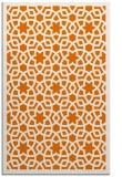 rug #912489 |  orange borders rug