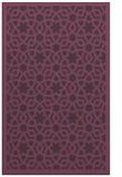 rug #912517    purple borders rug