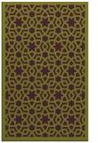 rug #912521    green geometry rug