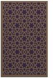rug #912525 |  mid-brown borders rug