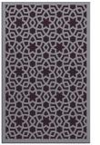 rug #912529 |  purple borders rug