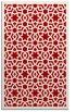 rug #912533 |  red borders rug