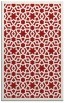 rug #912541    red borders rug