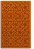 rug #912557    red-orange borders rug
