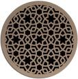 rug #912657 | round beige borders rug