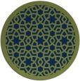 rug #912689   round blue borders rug