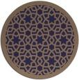 rug #912753 | round beige borders rug