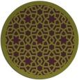 rug #912881   round purple borders rug