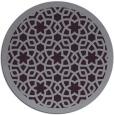 rug #912889 | round purple borders rug