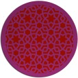 rug #912905 | round red borders rug