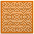 rug #916965 | square beige borders rug