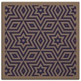 rug #917073 | square beige borders rug