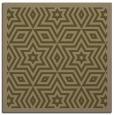rug #917081 | square brown borders rug