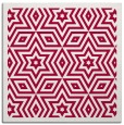 rug #917085 | square red borders rug