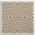rug #917117 | square mid-brown popular rug