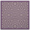 rug #917149 | square purple geometry rug