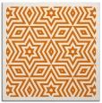 rug #917169   square orange borders rug