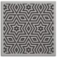 rug #917177 | square red-orange graphic rug