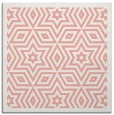 rug #917193 | square pink borders rug