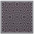 rug #917209 | square purple borders rug
