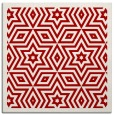 rug #917213 | square red graphic rug