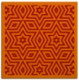 rug #917217 | square red borders rug