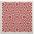 rug #917221 | square red borders rug