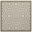rug #917265 | square beige borders rug