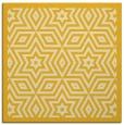 rug #917269 | square yellow borders rug
