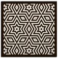 rug #917277 | square brown borders rug