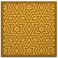 rug #917285 | square light-orange borders rug