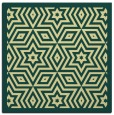 rug #917289 | square yellow graphic rug