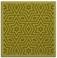 rug #917293 | square light-green borders rug