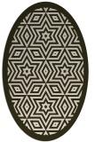 rug #917505 | oval borders rug