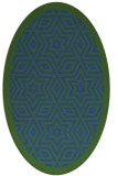 rug #917520 | oval borders rug