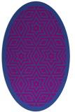 rug #917524 | oval borders rug