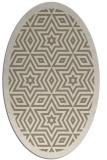 rug #917628 | oval borders rug