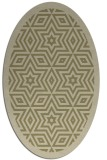 rug #917668 | oval graphic rug