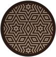 rug #918060 | round graphic rug